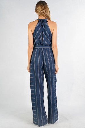 Navy Winter Jumpsuit