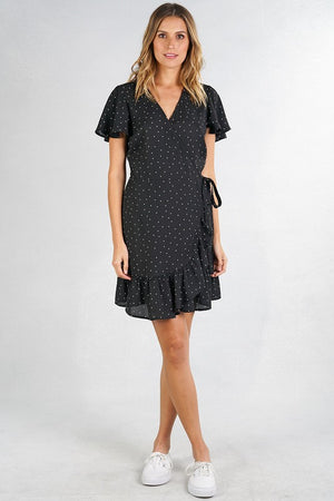 Polka Dot Ruffle Mini