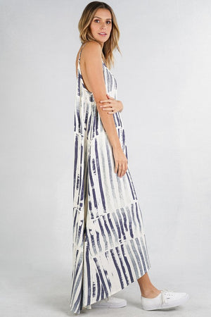 Striped Magdalena Dress