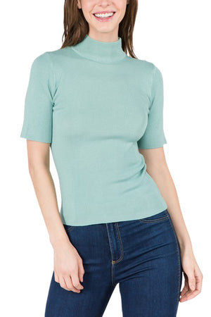 Mint Spring Sweater