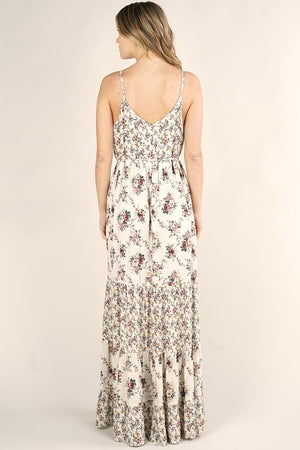 Rosey Floral Maxi