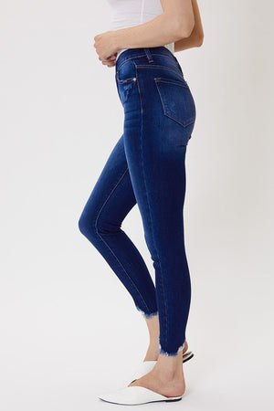 Kan Can Dark Denim Ultra High Rise