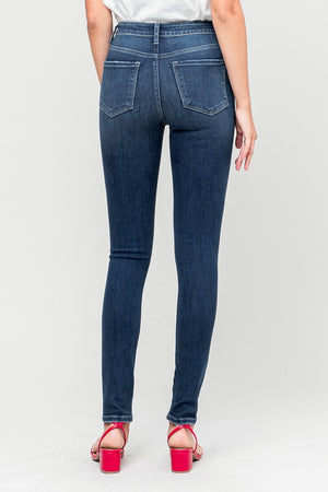Flying Monkey Knee Rip Denim