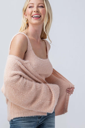 Fuzzy Sweater Set