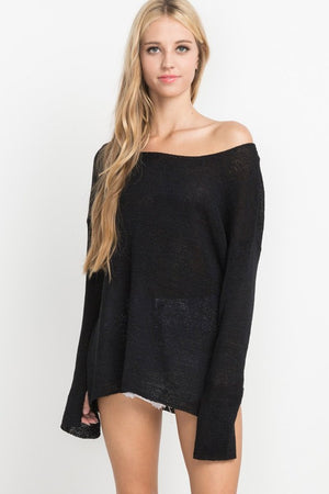 Knit Oversize Sweater