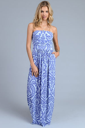 Best Seller Baroque Maxi Dress