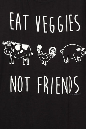 Eat Veggies Not Friends Tank