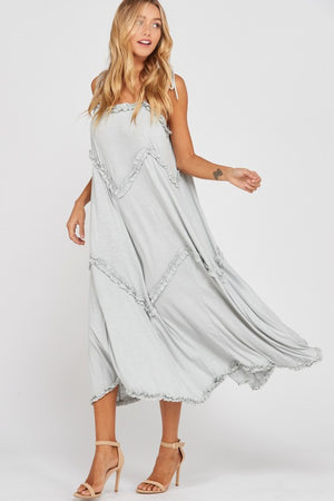 Flowy Grey Dress