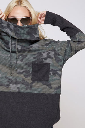 Camo Blend Light Sweater