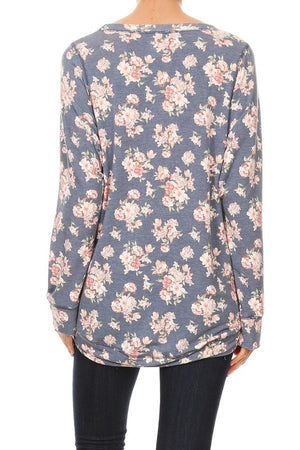 Freeloader Famous Dolman in Floral (5th Sellout)