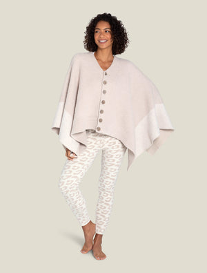 Barefoot Dreams One Size Coastline Poncho
