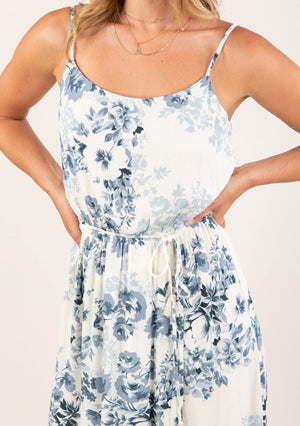 In Bloom Floral Midi Dress