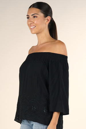 Nat Bell Sleeve Blouse