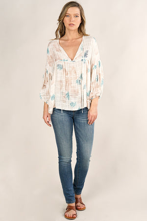 Watercolour Fall Blouse