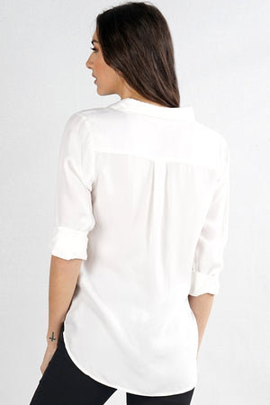 The Perfect White Blouse