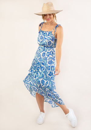Lucy Tiered Maxi dress