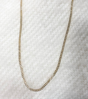 Macron Plated Chain Link Necklaces