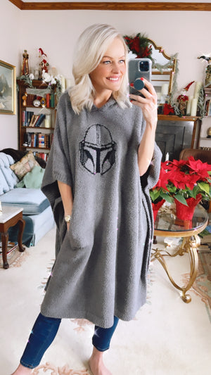 Unisex Barefoot Dreams Star Wars Mandalorian Super Cozy