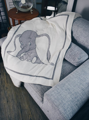 Barefoot Dreams Dumbo Stroller Blanket
