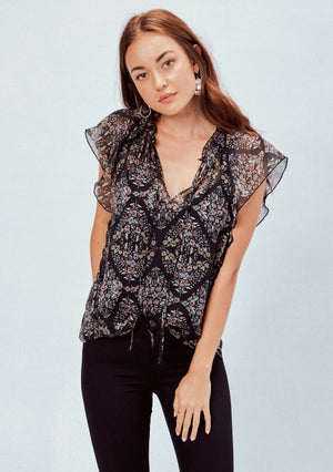 Flutter Sleeve Perfection Blouse