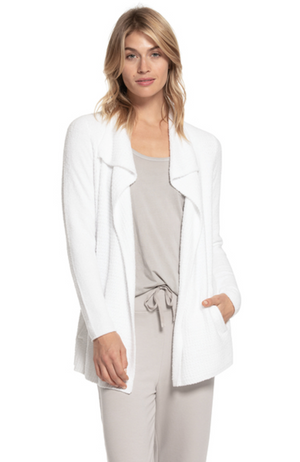 Barefoot Dreams Coastal Cardi WHITE!!!