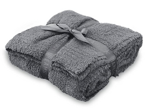 Barefoot Dreams CozyChic Throw Charcoal