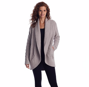 Barefoot Dreams Cable Cardigan