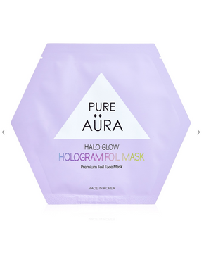 Pure Aura Halo Glow Face Mask