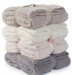 Barefoot Dreams CozyChic Throw (Stone)