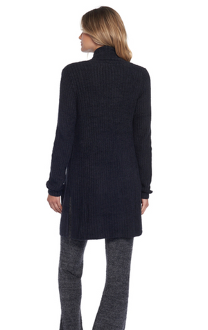 Barefoot Dreams Montecito Cardigan Black