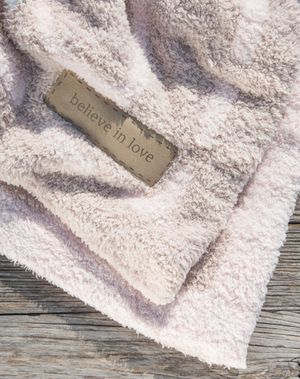 Barefoot Dreams Covered In Prayer Blanket Pink