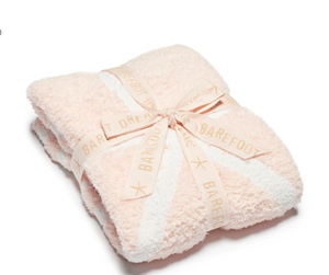 Barefoot Dreams Starfish Kids Blanket Pink