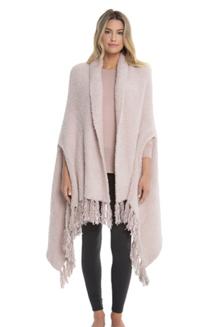Barefoot Dreams Luxe Laguna Wrap Pink