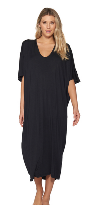Barefoot Dreams Luxe Milk Caftan