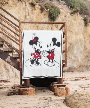 Barefoot Dreams Mickey and Minnie Disney Blanket
