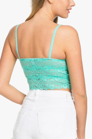 Sea Green Bralette