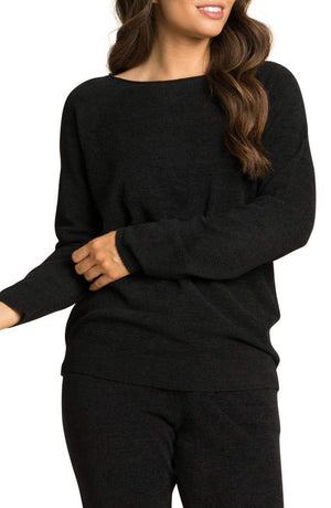 Barefoot Dreams CCL Rolled Neck Lounge Pullover