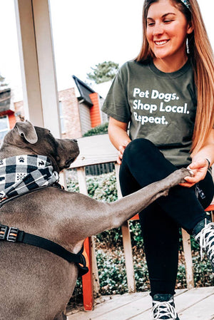 Pet Dogs Shop Local Tee
