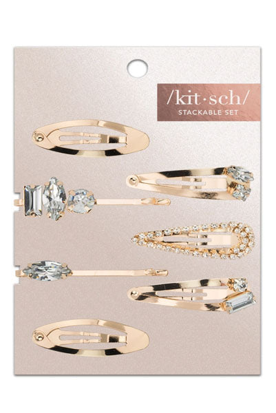 Sparklin' Micro Stackable Snap Barrettes