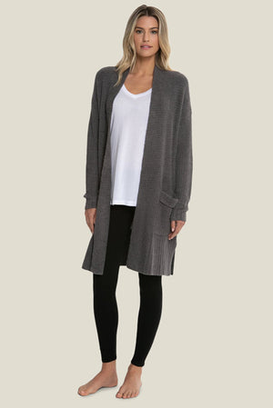 Barefoot Dreams Long Weekend Cardigan Ash