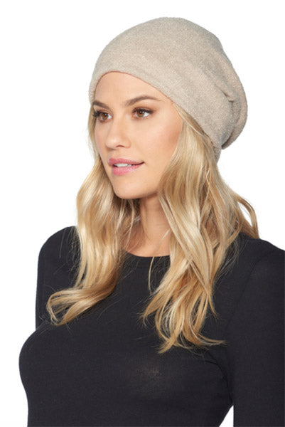 Barefoot Dreams Classic Slouch Beanie Sand