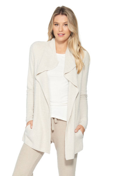 Barefoot Dreams Coastal Cardigan Bisque