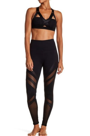 Epic Mesh Detail Leggings