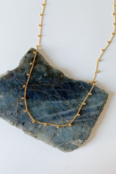 Cassie Gold Plated Necklace