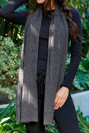 Barefoot Dreams Cozychic Lite Ribbed Scarf