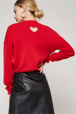 Heart Punch Sweater