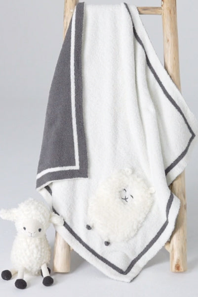 Barefoot Dreams Little Lamb Blanket