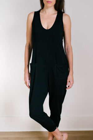 Smash & Tess Saturday Romper Black