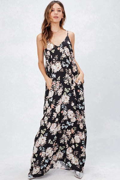 Perfect Floral Billowy Maxi