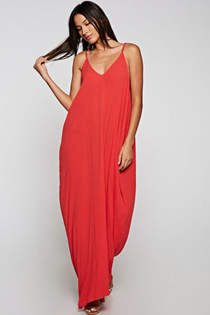 Gorgeous Cocoon Maxi Coral